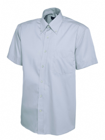 Uneek Mens Oxford Short Sleeve Shirt UC702